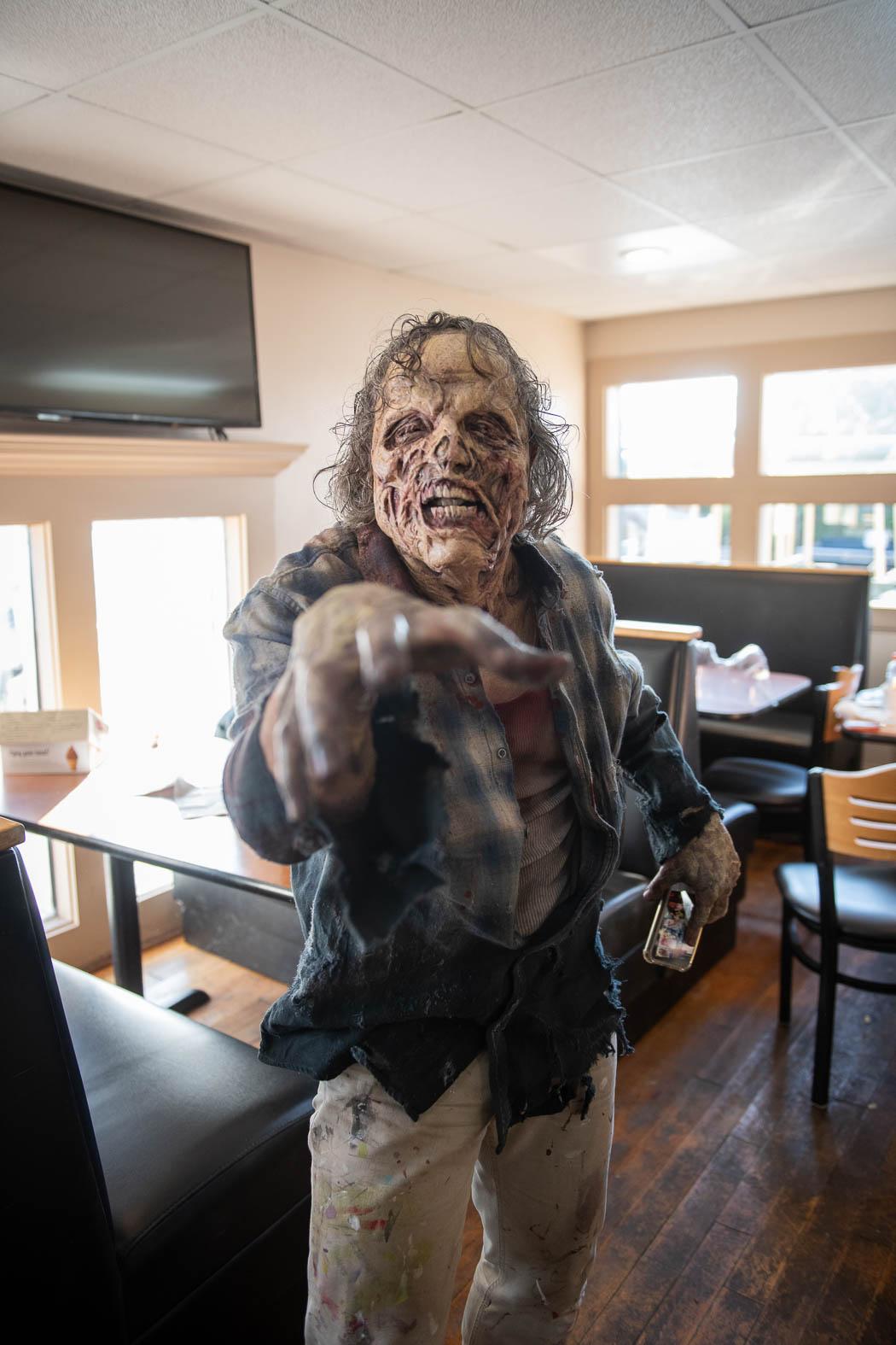 Zombie Coming Toward You
