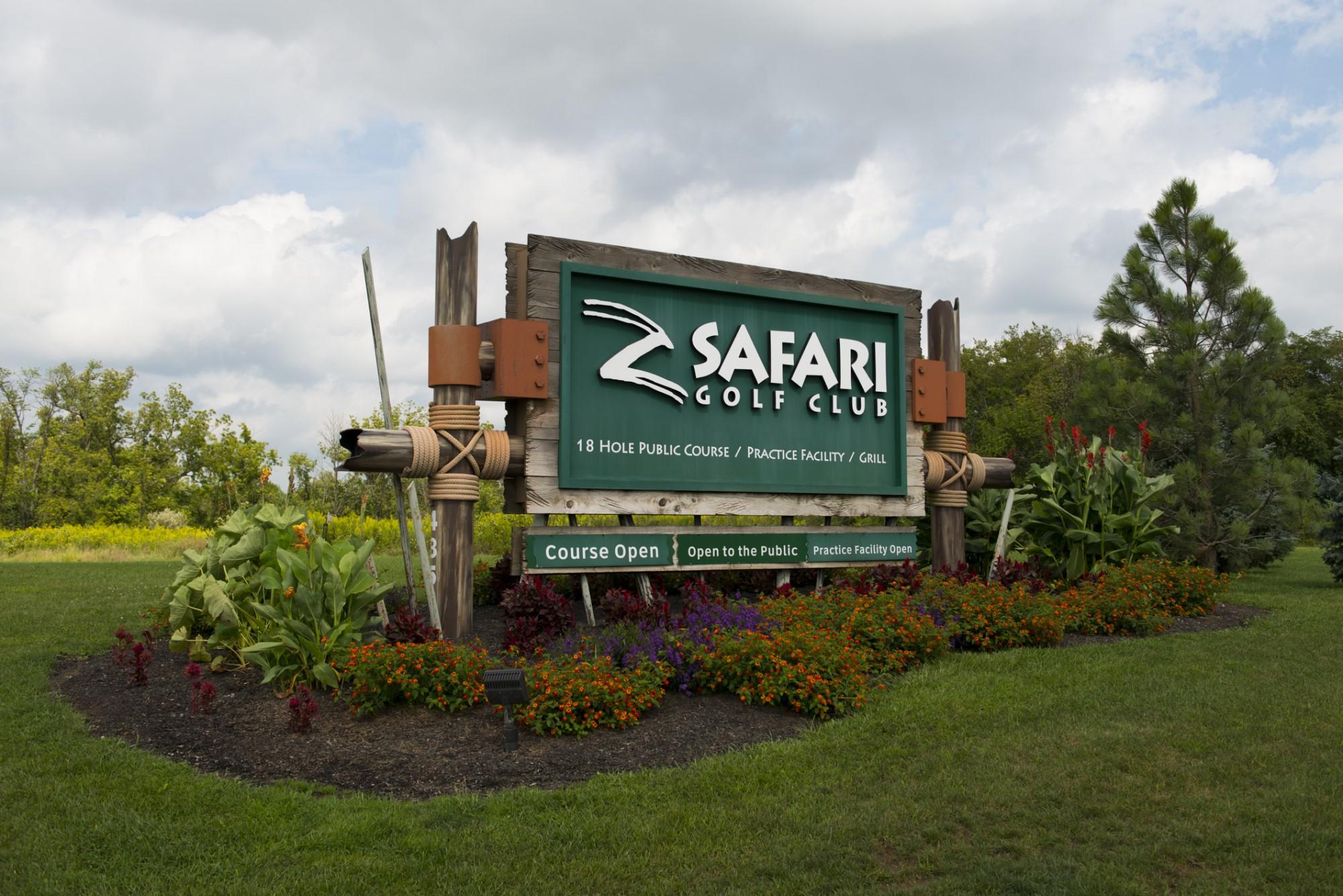 Safari Sign 2366 - Grahm S. Jones, Columbus Zoo and Aquarium
