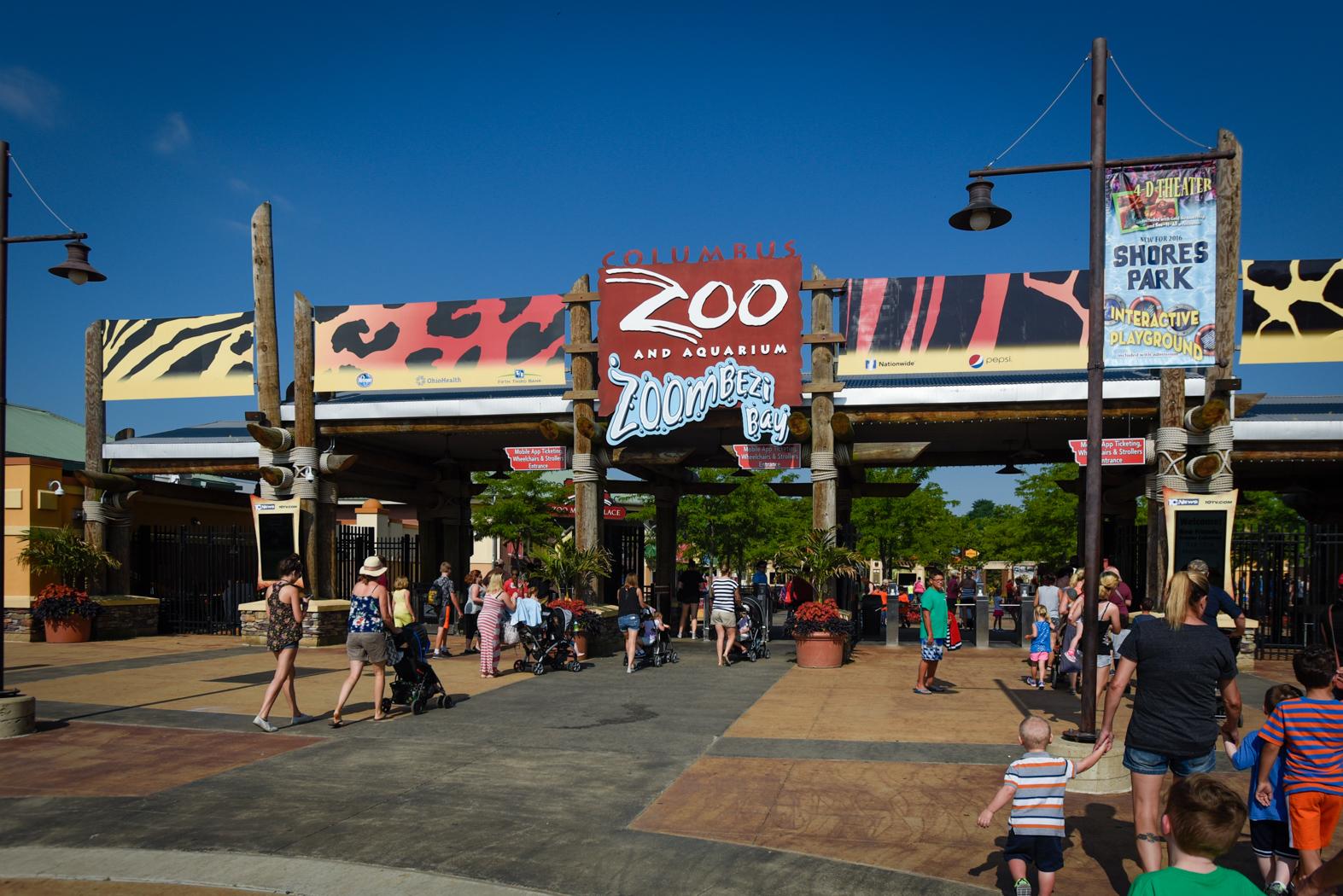 Columbus Zoo Gate Guests 2809 - Grahm S. Jones, Columbus Zoo and Aquarium