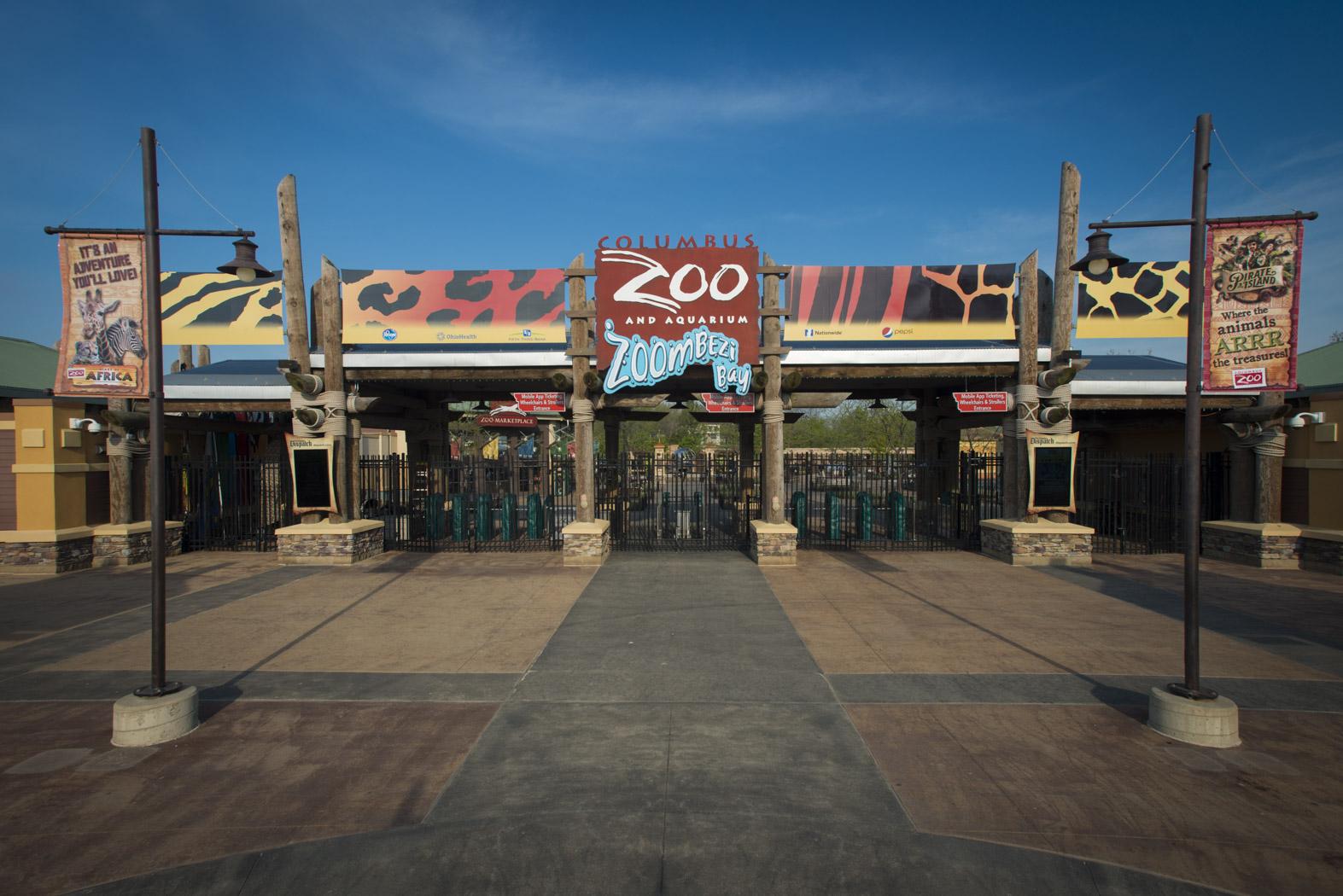 Zoo Entrance  - Grahm S. Jones, Columbus Zoo and Aquarium (1)