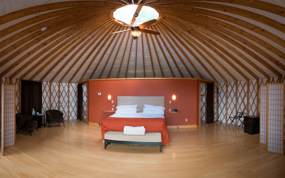 Nomad Ridge (Grand Yurt Interior)  - Grahm S. Jones, Columbus Zoo and Aquarium-2